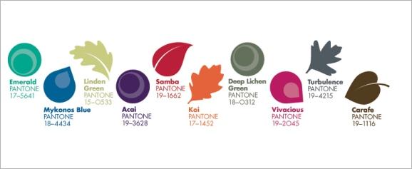 Paleta boja za jesen 2013