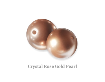 Crystal Rose Gold Pearl
