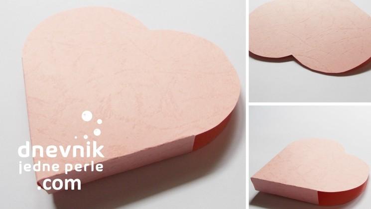 kutija za nakit u obliku srca
