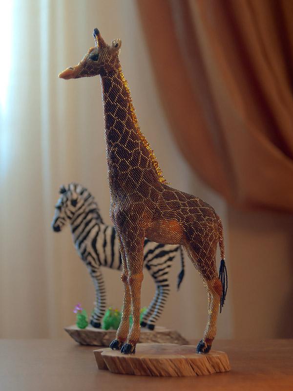 Skulptura žirafa