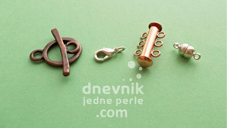 kopce za narukvice i ogrlice
