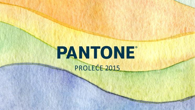 pantone prolece 2015